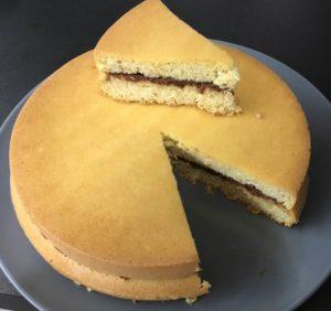 torta paleo crema nocciole chetogenica