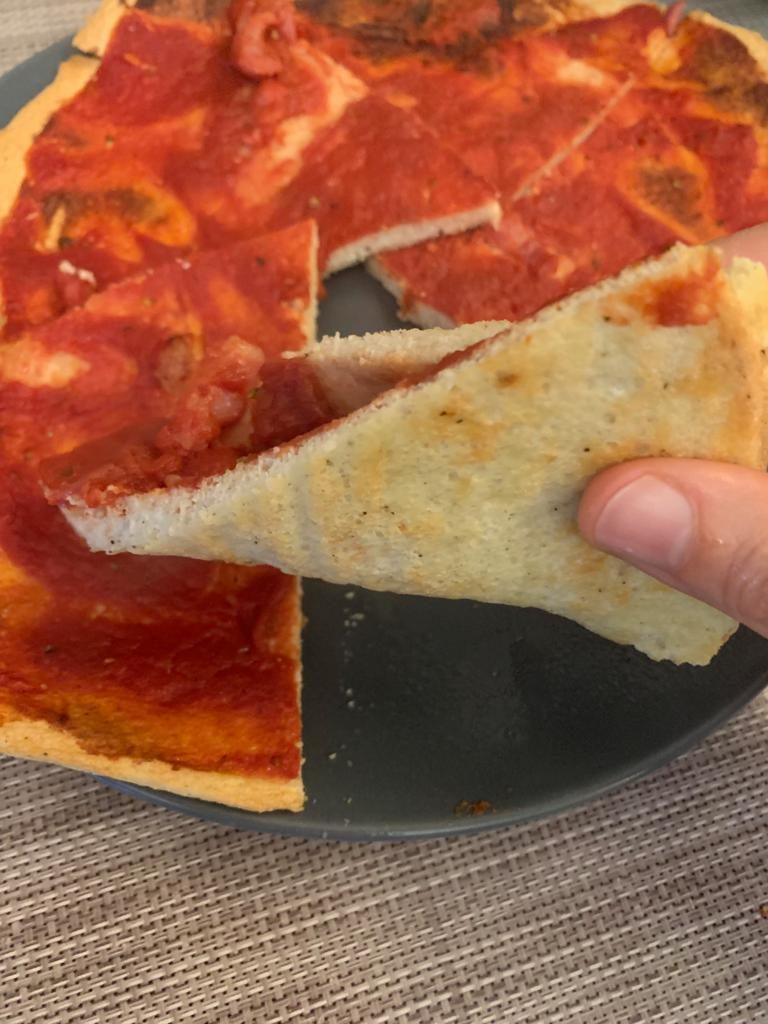 pizza durante dieta chetogenica