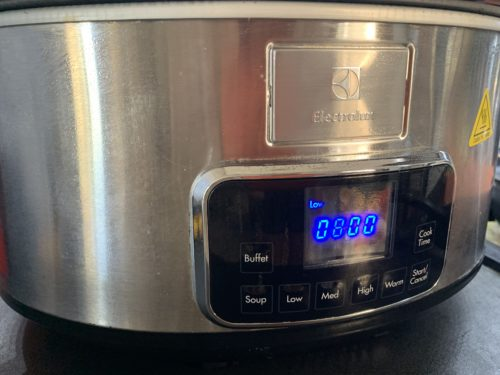 slow cooker electrolux low