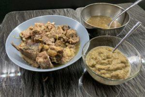 slow cooker bollito con salsa e brodo