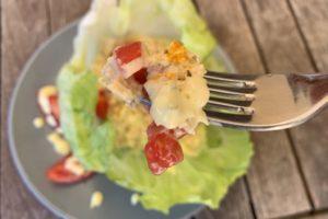 Barchetta di pollo paleo chetogenica fredda