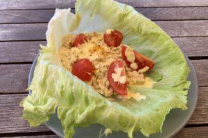 Barchetta di pollo paleo chetogenica