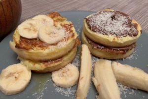 pancake veloci dieta paleo chetogenica