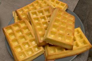 waffle paleo chetogenica sfornati