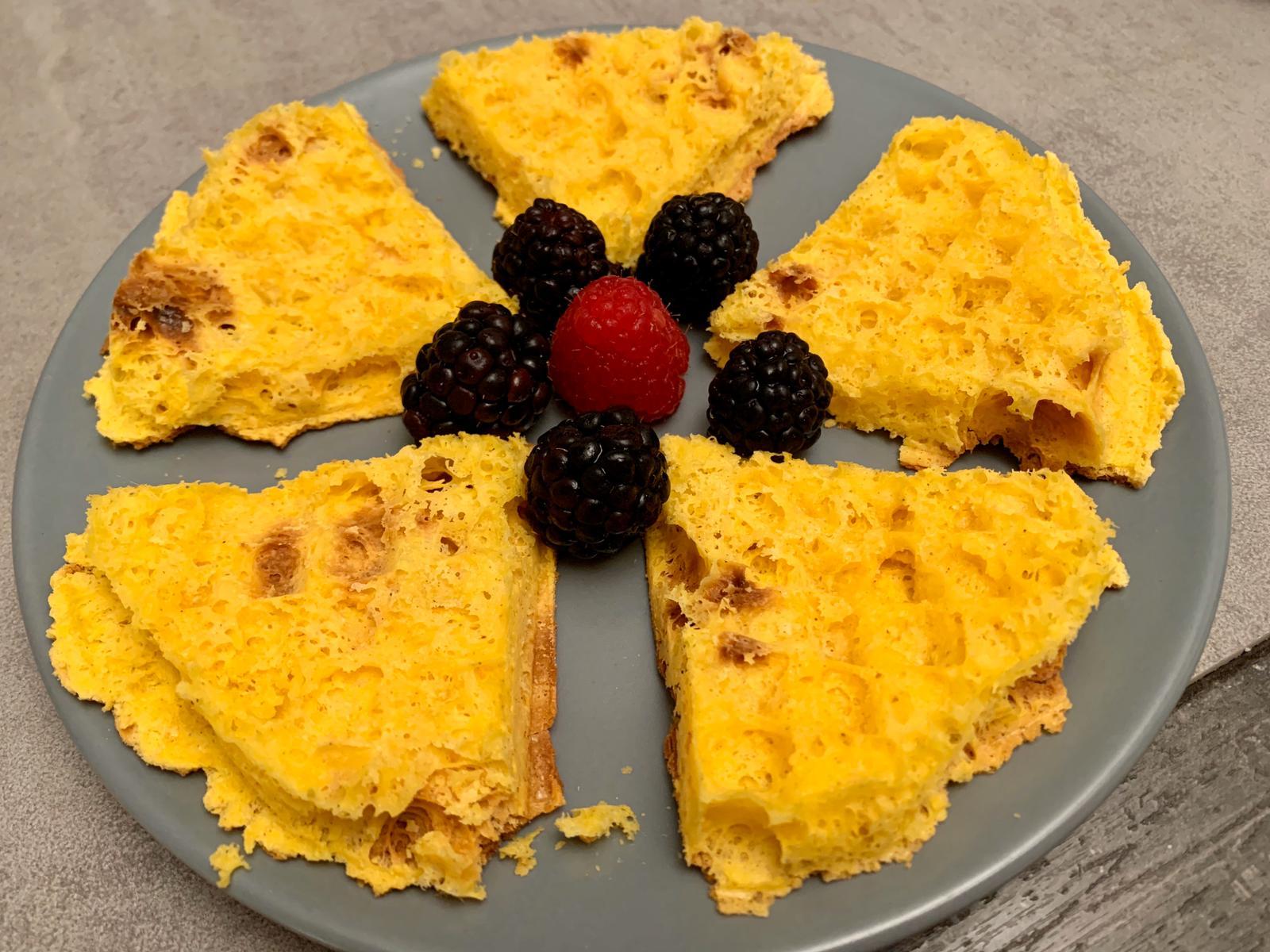 sfoglie di uovo dolci