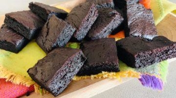 brownies con batata