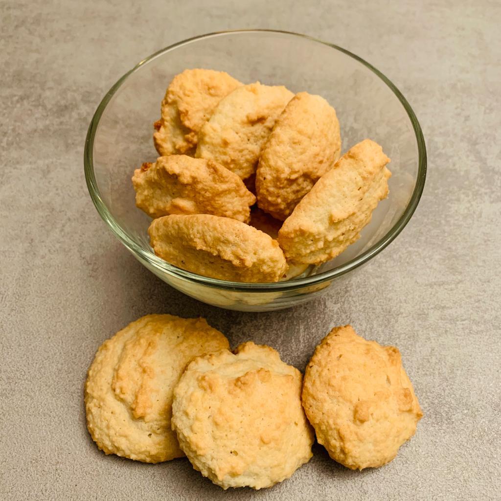 biscotti alle mandorle friabili