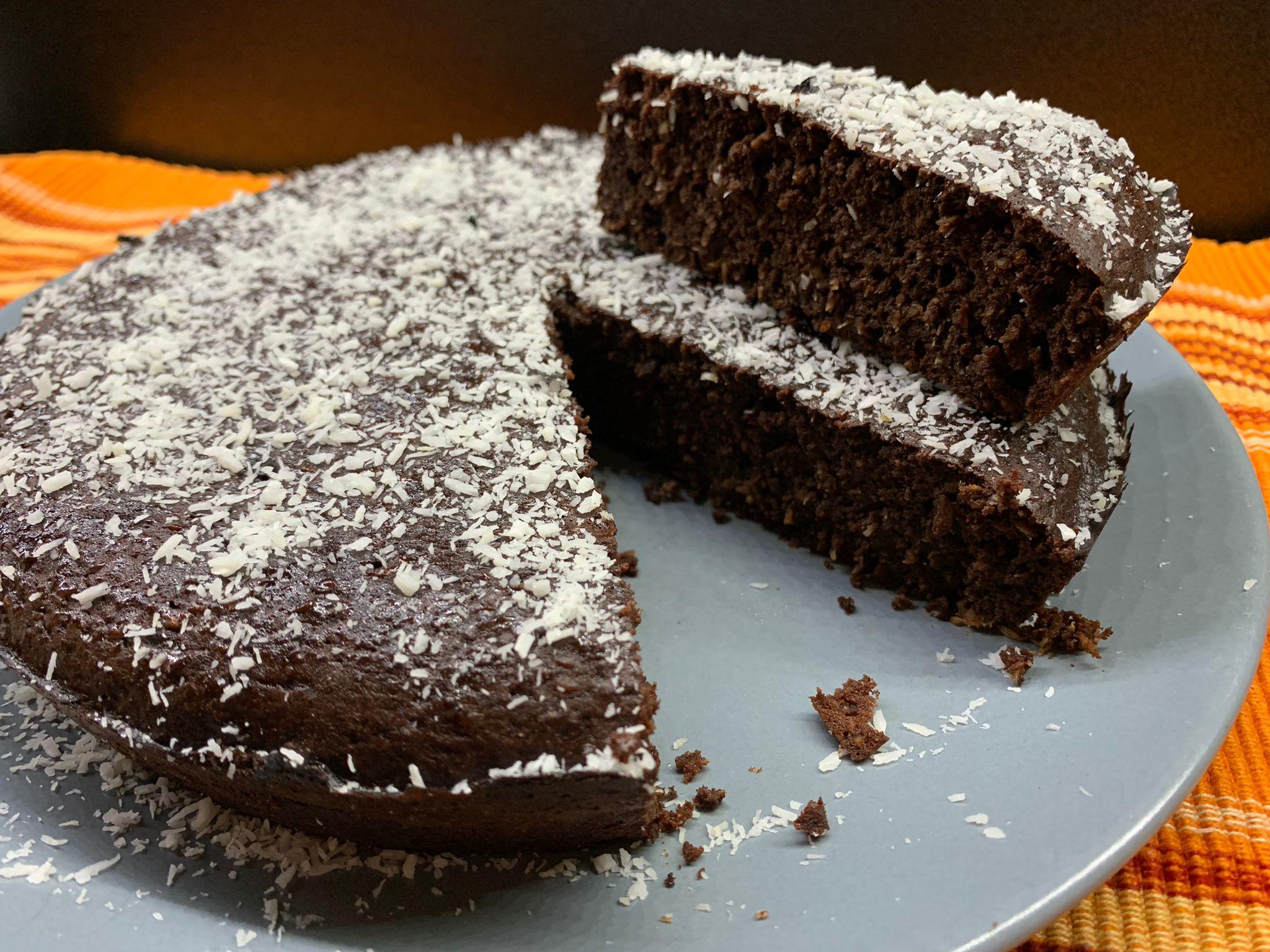 Torta cocco e cacao low carb