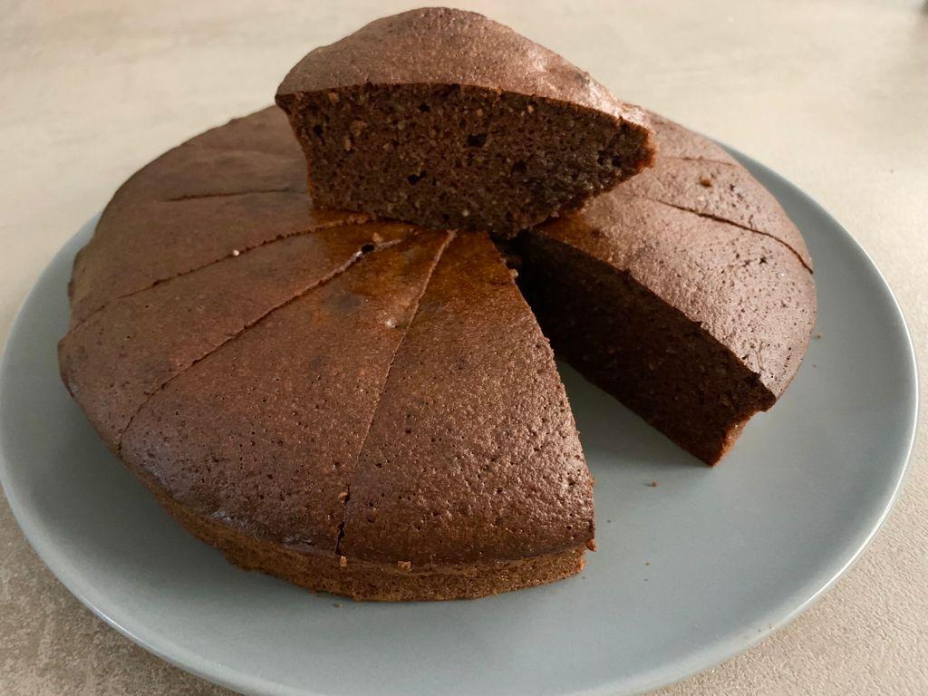 torta caprese chetogenica